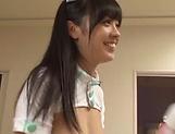 Sweetie Arisa Fujii needs cock to tame her wild beaver
