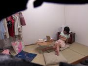 Sexy Asian doll Haruki Satou shows toy insertion for voyeurfucking asian, asian anal, asian ass}