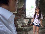 Outdoor stand fucking with Kotomi Asakura