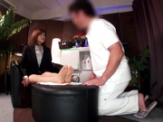 Professional massage turns to steamy sex