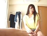 Tasty amateur milf Chitose Saegusa loves hot cock picture 13