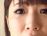 Tasty amateur milf Chitose Saegusa loves hot cock picture 15