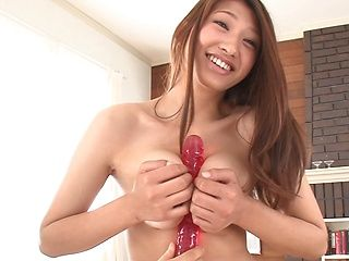 Incredibly beautiful Sarii Aihara is pleasured