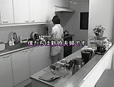 Big ass hotty Erina Nagasawa performing blow dick in kitchen picture 6