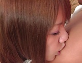 Hinano Momosaki enjoys blowing of a shlong picture 14