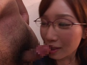 Japanese milf Nanami Kawakami loves jizz bursting on her face