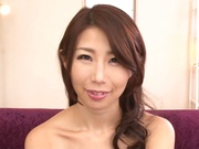 Amateur chick Ayumi Shinoda enjoys thick dick in her tiny ass hole