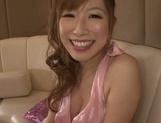 Busty princess Erika Kitagawa engulfs dick on pov enjoys deep fuck