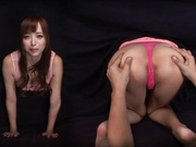Raunchy Yuu Namiki beds over for kinky delighting