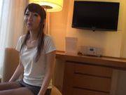 Naughty teen Rin Misuzu gets licked and rides massive schlong