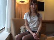 Naughty teen Rin Misuzu gets licked and rides massive schlong