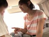 Car sex with seductive Asian milf Reiko Nakamori