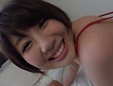 Sakura Kirishima poses for te camera