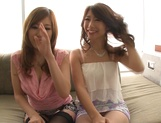 Shinoda Ayumi and Kitagawa Erika do fingering and carpet munching picture 10
