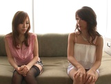 Shinoda Ayumi and Kitagawa Erika do fingering and carpet munching picture 6