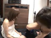 Japanese gal Mei Mizuhara voyeur nice teen fucking from behind