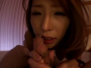 Naughty Asian milf, Haruka Sanada in pov hardcore show