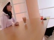Dirty foot fetish show with Japanese teen Kana Yume
