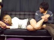 Hunky lads screwe Kotono Suzukaze amazingly