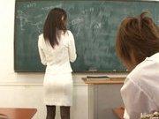 Miho Kanda Sexy Asian babe is fucked in school