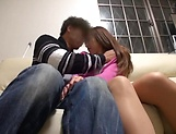 Attractive Asian lassie gets intimate with stud picture 11