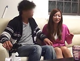 Attractive Asian lassie gets intimate with stud