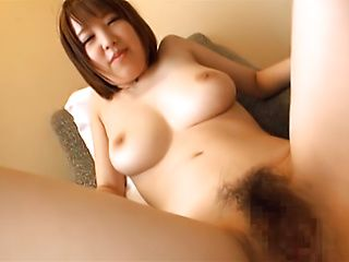 Momoka Hirura getting her wet tight hole nailed roughly