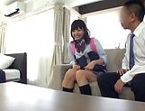 School broad Yurina Kokoa loves an elderly guy picture 12
