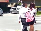 School broad Yurina Kokoa loves an elderly guy