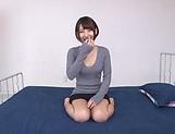 Otoha Nanase expertly handles a stiff shlong.