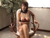 Sakura Sakurada Pretty Japanese model shaves her pussy before a date picture 13