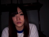 Gorgeous Asian schoolgirl gives a steaming blowjob