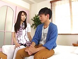 Foxy Claire Hasumi pleasures a lucky dude picture 11