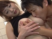 Kinky Japanese milf with busty body Misa Kudou has sex in a bathroomfucking asian, hot asian pussy, asian teen pussy}