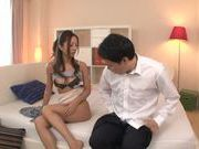 Young Saya Minami loves huge dicks in her hot hole