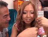Asian with tight pussy Sena Hasegawa loves masturbating picture 3