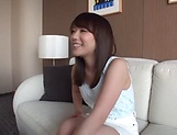 Japanese girl enjoys a steamy cunnilingus indoors