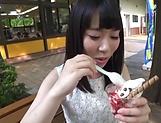 POV scene involving hot Asian teen getting fucked picture 14