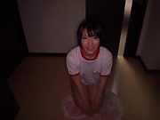 Filthy Abeno Miku honey is eager to give head