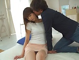 Pretty teen model, Akiho Yoshizawa is one horny babe