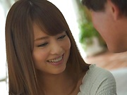 Enticing Asian teen, Akiho Yoshizawa gets hot rear banging