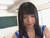 Special POV porn scene along brunette Ai Uehara picture 15
