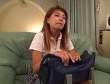 Japanese teen fucked deep in her tight pussy