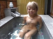 Aiba Reika  enjoys a sensual masturbation