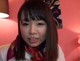 Katase Hitomi enjoys a superb wild shag picture 11