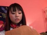 Katase Hitomi enjoys a superb wild shag picture 13