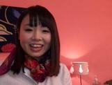 Katase Hitomi enjoys a superb wild shag picture 14