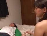 Kinky Tsukasa ready to have her pussy nailed picture 11