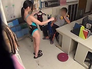 Hot Asian darling enjoys getting rammed