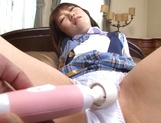 Amateur schoolgirl Chika Sena rides cock like a true goddess picture 14